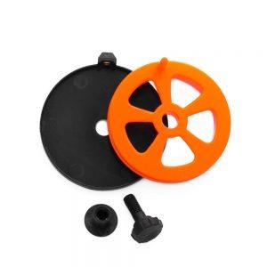 Puolapaketti oranssi 58 mm
